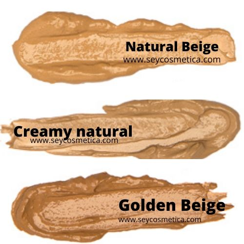 natural beige, creamy natural, golden beige seytu