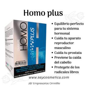 Homo plus Omnilife para que sirve