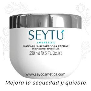 Mascarilla reparadora capilar Seytu para la caída del cabello en mujeres