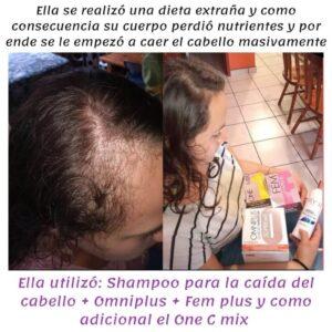 Testimonio Seytu caída del cabello en mujeres