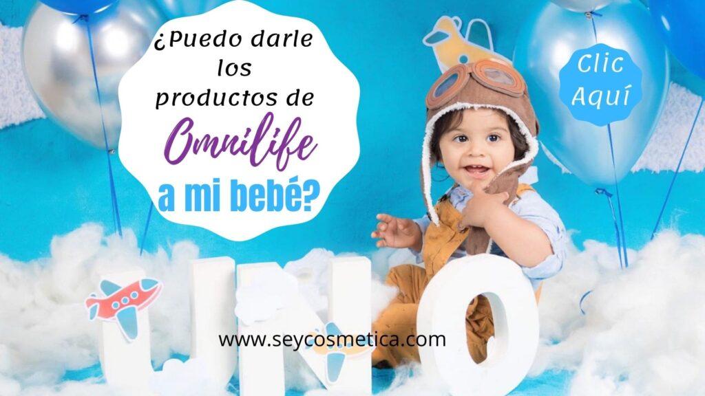 Productos Omnilife y los bebes