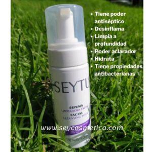Beneficios de la Espuma limpiadora Seytu